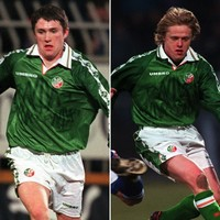 Two of Ireland's greatest footballers made their debuts on this day in 1998