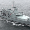 Man arrested following theft aboard naval vessel docked at Sir John Rogerson's Quay in Dublin