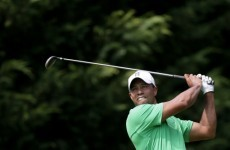 De Jonge leads at Congressional, Tiger set to pounce
