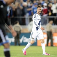 VIDEO: Beckham lets frustration boil over in the 'California Clasico'