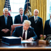 Trump signs off on $2.2 trillion rescue package as Covid-19 cases reach over 100,000 in the US