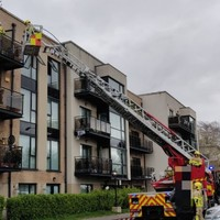 Firefighters rescue eight people from 'well developed fire' in Dublin apartment complex