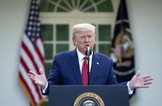 Trump says coronavirus death rate in US likely to peak in two weeks' time