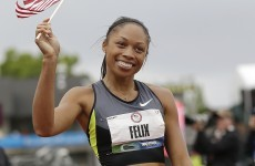 Flying Felix: Allyson clocks sixth fastest 200m in history