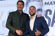 Saunders has licence suspended while his promoter Hearn admits he was 'appalled' by video