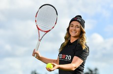From a US scholarship to inspiring the next generation and female coaches: Driving tennis in Ireland