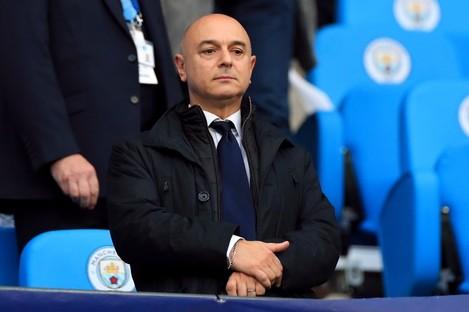 Tottenham Hotspur chairman Daniel Levy (file pic).