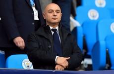 Spurs' accounts show chairman received £3 million stadium bonus