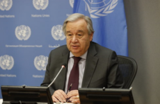 UN chief describes Covid-19 emergency as the 'most challenging since the Second World War'