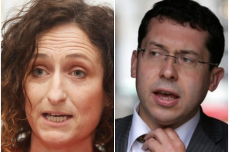 SF Lynn Boylan and Ind Ronan Mullen who have both won Seanad seats today