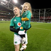 Earls to raffle Ireland jersey from historic win over All Blacks for children's charity