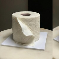 Home baker creates 'toilet paper' cake during coronavirus lockdown
