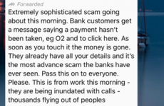 Debunked: That 'extremely sophisticated' bank scam doing the rounds on WhatsApp is completely false