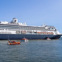 Virus-hit cruise ship which is carrying Irish citizens docks in Florida