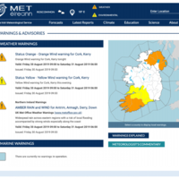 'We're nearly there': Met Éireann set to include Northern Ireland on its weather warning maps