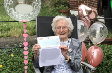 Ireland's newest centenarian shares secrets to long life while celebrating 100th birthday