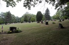Should you drill for gas... under a cemetery?