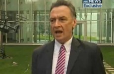 Video: Australian trade minister breaks into song mid-interview