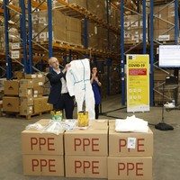 Cork fabric company to alter some of HSE's shipment of personal protective equipment to make it suitable for use