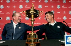 'Today Europe and the US are united like never before' - Ryder Cup captains Harrington and Stricker