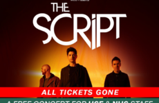 Tickets for The Script's two free concerts for healthcare workers went in less than 30 minutes