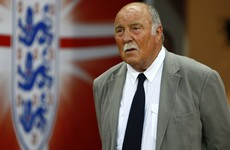 Former Tottenham and England striker Jimmy Greaves in hospital