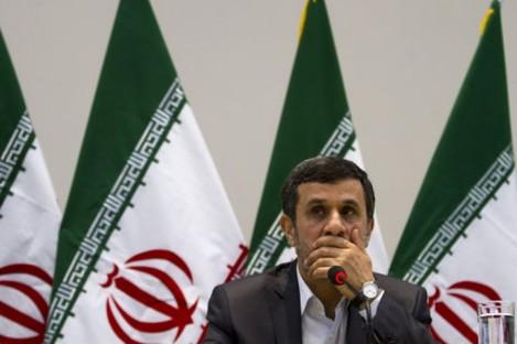 Iran's President Mahmoud Ahmadinejad at a  Rio+20 event last month.