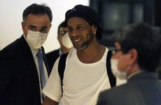 Ronaldinho released from Paraguayan prison, now on house arrest at luxury hotel