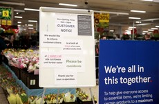 Tesco said it is now prioritising the elderly and those most in need for online shopping