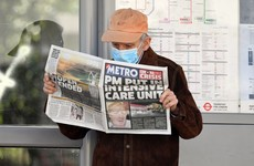 Boris Johnson 'improving' and 'sitting up in intensive care bed'