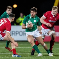 Ireland U20 centre Kelly signs with Leicester Tigers