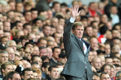 File photo fo Kenny Dalglish.