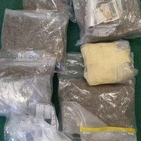18 year-old arrested after €79,000 worth of cannabis, cocaine and MDMA seized