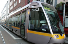 Man in his 60s in critical condition after being hit by Luas this morning