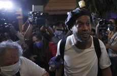 Ronaldinho enjoys 'golden cell' in locked-down Paraguay capital