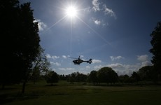 Garda helicopters are conducting Covid-19 aerial surveillance to ensure people are complying with guidelines
