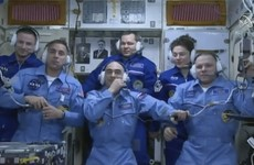 After more than 200 days in space, an International Space Station crew has landed safely on Earth