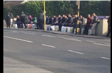 Debunked: No, this is not a picture of Bulgarian workers outside a supermarket in Dublin this week