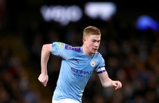 Man City's De Bruyne recovering from illness