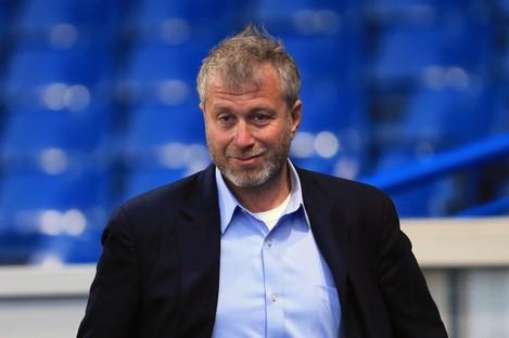 Chelsea's owner Roman Abramovich (file pic).