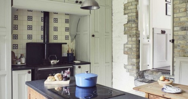 Charm and character at this renovated 19th-century schoolhouse by the canal