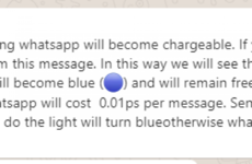Debunked: No, WhatsApp isn't about to start charging users to send messages