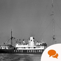 'I'd only meant to stay a few months aboard Radio Caroline. Ronan O'Rahilly's magnetism kept me there for years'