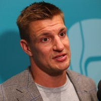 Rob Gronkowski reunited with Tom Brady at Buccaneers