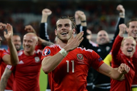 Wales star Gareth Bale.