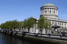 Gardaí are investigating the gathering of people at the Four Courts yesterday