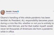 Debunked: No, Donald Trump didn't tweet he'd 'never let thousands die' in a pandemic back in 2009