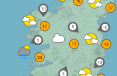 Highs of 20 degrees this weekend but more unsettled weather is on the way