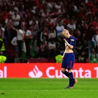 'Everything clouds over and goes dark' - Barca great Iniesta reveals battle with depression