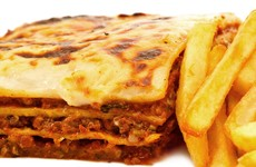 Poll: Do chips go with lasagne?